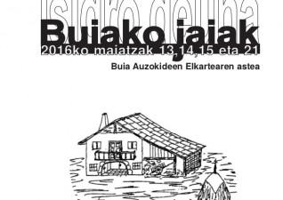 Buiako jaiak / Fiestas de Buia