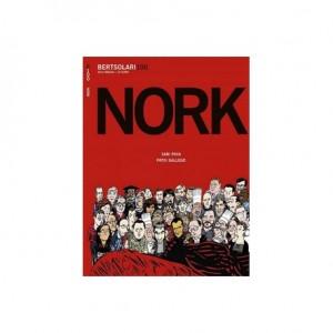 Presentación del cómic 'Nork hil du Andoni Egaña?' de Xabi Paya y Patxi Gallego
